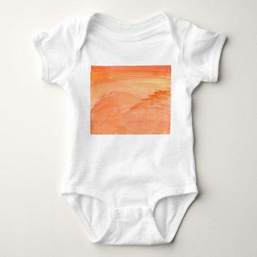 Textura anaranjada t shirts