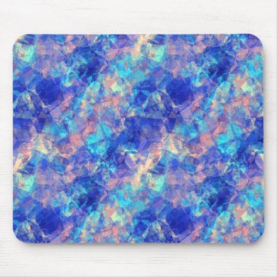 Textura arrugada azul azul tapete de ratones