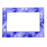 Textura arrugada azul foto de imanes