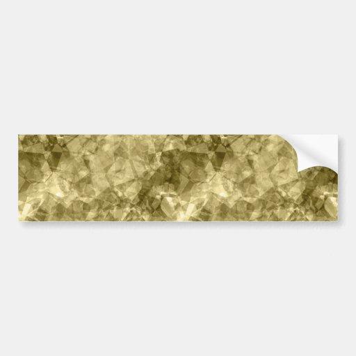 Textura arrugada bronce etiqueta de parachoque