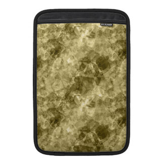 Textura arrugada bronce funda macbook air