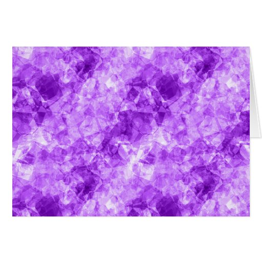 Textura arrugada púrpura tarjeta de felicitación