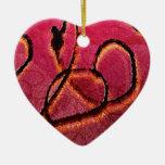 Textura artística del Arabesque Ornaments Para Arbol De Navidad