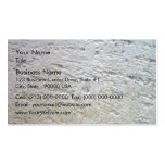 Textura aserrada de la piedra caliza con la sombra tarjeta de visita