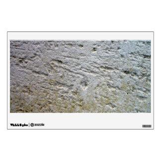 Textura aserrada de la piedra caliza con la sombra vinilo