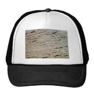Textura aserrada de la piedra caliza gorras de camionero