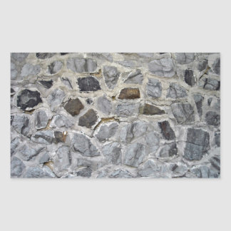 Textura áspera natural de la pared de piedra rectangular altavoz