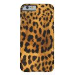 Textura auténtica de la piel del leopardo