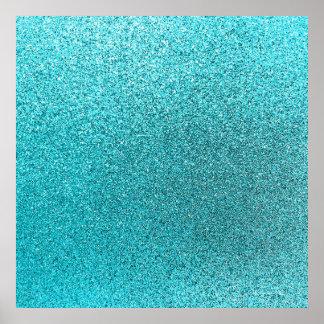 Textura azul de la chispa del fondo del brillo del póster