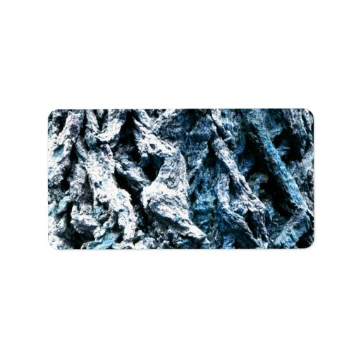 Textura azul del fondo del tinte de la corteza de  etiquetas de dirección