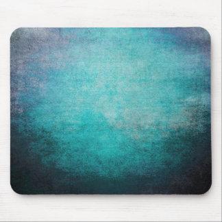 Textura azul fresca del vintage del Grunge de Mous Tapetes De Ratón