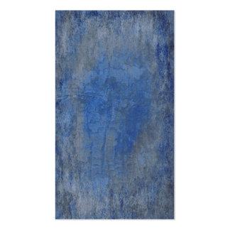 Textura azul profunda de la corteza tarjetas de visita