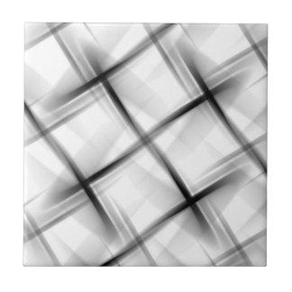 Textura blanca de la armadura de cesta azulejo cuadrado pequeño