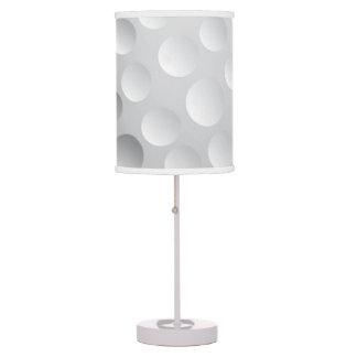Textura blanca fresca de la pelota de golf, golfis