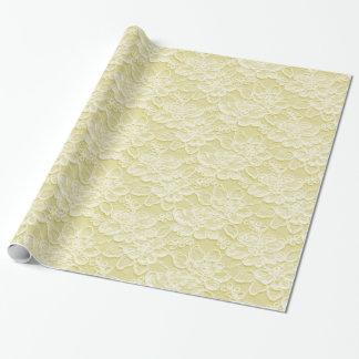 Textura blanca y amarilla del cordón