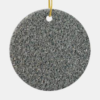 Textura caliente del betún de la mezcla adorno redondo de cerámica