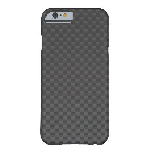 textura Carbono-fibra-reforzada del polímero Funda Para iPhone 6 Barely There
