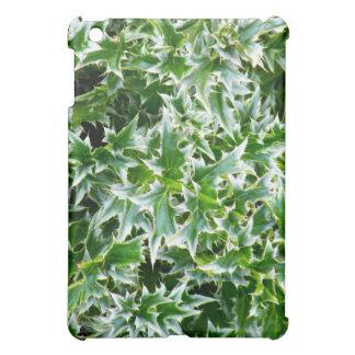 Textura claveteada de las hojas - verde