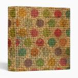 Textura colorida de la arpillera de la tela del Gr