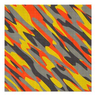 Textura colorida del camuflaje arte con fotos