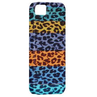 Textura colorida del estampado de animales de las funda para iPhone SE/5/5s