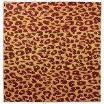 Textura colorida inconsútil de la piel animal del  servilletas de papel