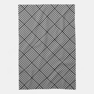 Textura comprobada geométrica toallas