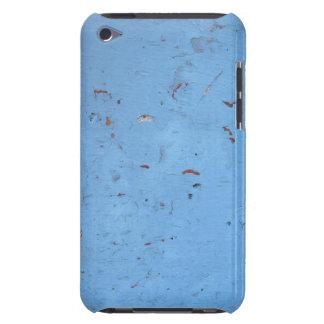 Textura concreta azul barely there iPod fundas
