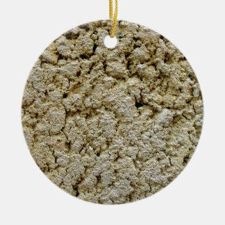Textura concreta de la piedra caliza ornaments para arbol de navidad