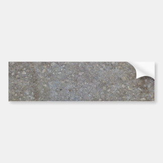 Textura concreta del fondo etiqueta de parachoque