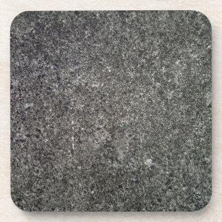 Textura concreta gris posavasos de bebida