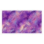 Textura cristalina púrpura Amethyst del gel Plantillas De Tarjetas Personales