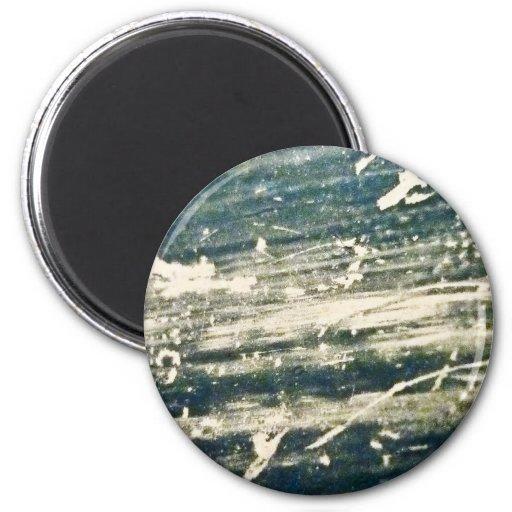 Textura cruda de la tela imán para frigorifico