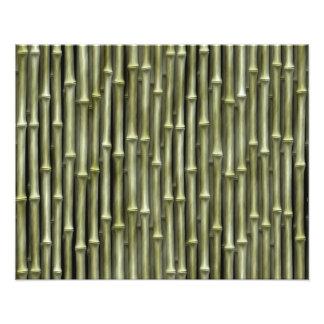 Textura de bambú de postes fotografía