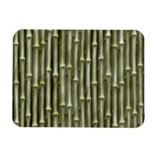 Textura de bambú de postes imán de vinilo
