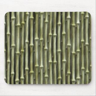 Textura de bambú de postes tapete de raton