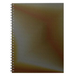 Textura de bronce libretas espirales