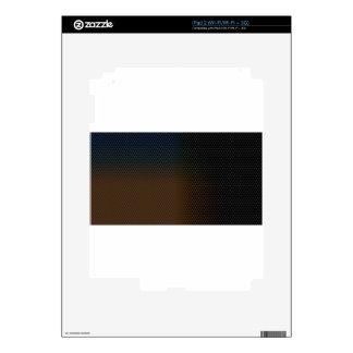 Textura de Brown iPad 2 Calcomanía