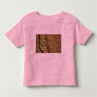 Textura de Brown (madera) Playera De Niño
