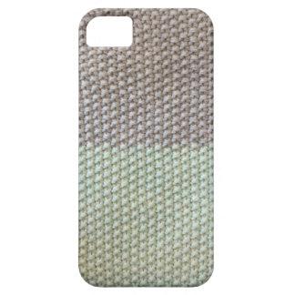 Textura de cuerda mint SIRAdesign gris Vienna by 2 Funda Para iPhone 5 Barely There