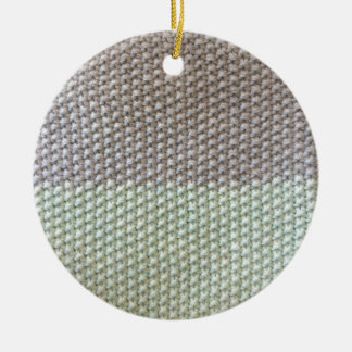 Textura de cuerda mint SIRAdesign gris Vienna by Adorno Navideño Redondo De Cerámica