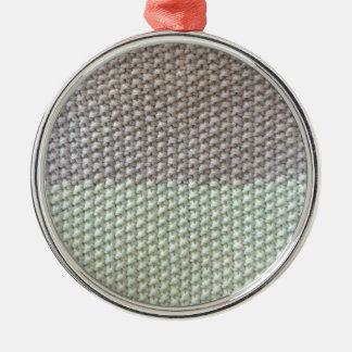Textura de cuerda mint SIRAdesign gris Vienna by Adorno Navideño Redondo De Metal