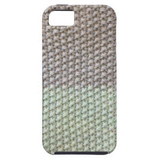 Textura de cuerda mint SIRAdesign gris Vienna by iPhone 5 Carcasas