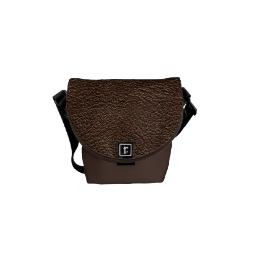 Textura de cuero bolsas de mensajeria