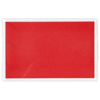 Textura de cuero roja magnífica