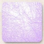 textura de cuero rosada posavaso