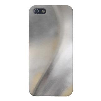 Textura de Inox iPhone 5 Carcasa