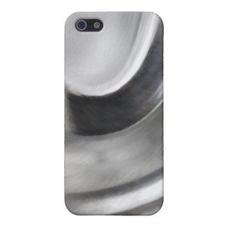 Textura de Inox iPhone 5 Carcasas