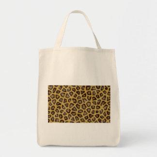 Textura de Jaguar Bolsa Tela Para La Compra