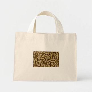Textura de Jaguar Bolsa Tela Pequeña